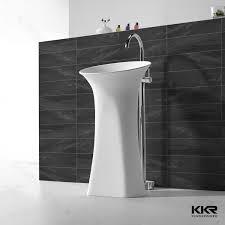 latest round pedestal vanity unit freestanding bathroom sinks