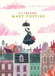 mary poppins book cover design by karl james mountford