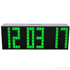 modern digital large big jumbo led digital alarm clocks