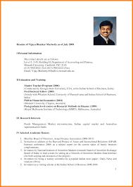 7 Sample Of Resume Malaysia Buyer Resume