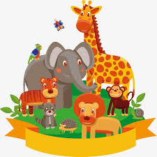 zoo clipart. Fine Clipart Zoo Animal Lion Tiger PNG And PSD To Zoo Clipart O