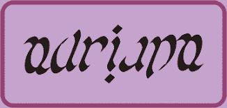 Resultado de imagen para imagenes de ejemplos de ambigramas
