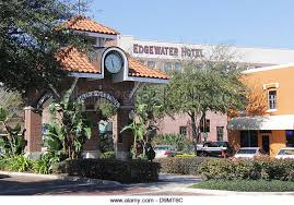 edgewater hotel winter garden. Main Street, City Of Winter Garden, Central Florida, United States. - Stock Edgewater Hotel Garden