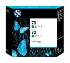 <b>HP</b> No.<b>70</b> Ink Cartridge <b>Green</b> 130ml x 2 (<b>Vivera</b>) (CB348A)   CAD ...