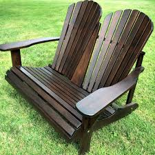 adirondack chairs. Modren Chairs Double Adirondack Chair 0102 And Chairs R