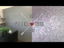 diy glitter wall iam nettamonroe