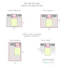 5x7 rug under queen bed area