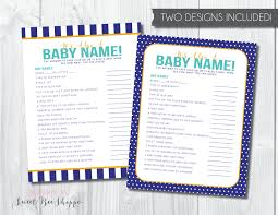 Animal Name Baby Shower GameBaby Name Games For Baby Shower