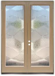 abstract hills 3d double entry doors