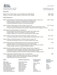 Web Design Resume Haadyaooverbayresort Com