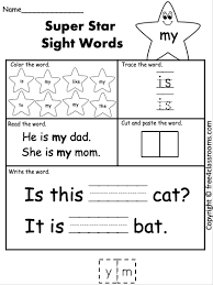 Sight words sight word resources. Free Sight Word Worksheet My Free4classrooms