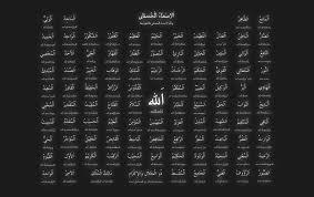 99 Names Of Allah Wallpaper (1900x1200 ...