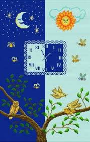 Night Chart Good Life 2 Go Free Cross Stitch Chart Day And Night Birds