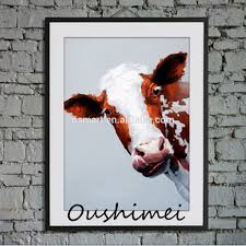 new 2016 modern abstract animals oil paintings cow pictures paintings