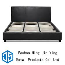 China King Size Furniture Accessory Metal Wooden Slat Bed Frame ...