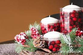 red christmas table decorations. Christmas Table Decorations And Centerpieces Accessories Design Ideas: Furniture Homemade Decoration With Red A