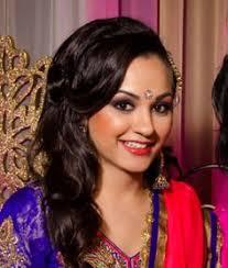 bridal makeup bridal hair bridal party bride brides bridal updo updo half up half down hair styles soft and simple bridesmaid hair indian