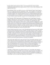 Federal Emergency Management Agency National Advisory Council Meeting  Sheraton Crystal City Hotel Arlington, VA October 22-23, 2