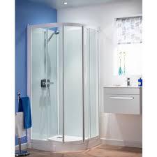 kinedo kineprime glass 800mm quadrant pivot shower cubicle