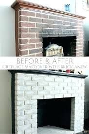 brick inside fireplace renovation ideas before after remodel and paint colors grey with mantle fi gray brick fireplace painted chalk paint