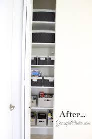 Narrow Linen Cabinet Narrow Linen Closet Organization Graceful Order