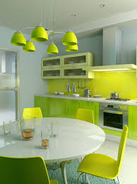 small kitchen dining room ideas office lobby. Combination Of Yellow-green In The Interior Small Kitchen Dining Room Ideas Office Lobby