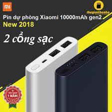 Pin dự phòng Xiaomi Mi Gen 2s 2018 10000 mAh