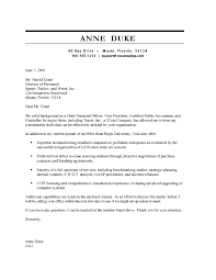 Cfo Cover Letter Buy Cover Letter Top Quality Homework And