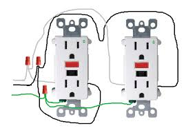 wiring multiple outlets in series diagram images multiple outlets electrical how do i properly wire gfci outlets in parallel home