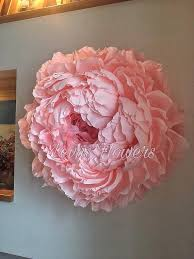 Large Tissue Paper Flower Large Crepe Paper Flowers Giant Paper Flowers Wedding