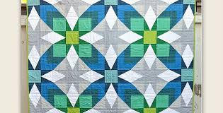 Traditional Quilt Patterns Adorable A Traditional Quilt Goes Modern With Great Results Quilting Digest