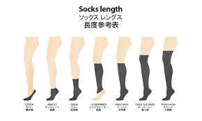 Sock Length Chart Size Chart Danken Enterprise Ltd