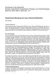 Beratungsverfahren gemäß § 135 absatz 1 sgb v (vertragsärztliche versorgung) stand: Systemische Beratung Unter Beruecksichtigung Verschiedener Systemischer Methoden Pdf