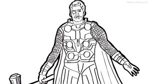 Cleanpng provides you with hq infinity war coloring pages transparent png images, icons and vectors. Thor Coloring Pages From Avengers Infinity War Xcolorings