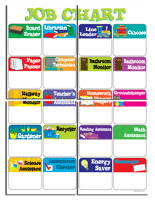 First Grade Job Chart Free Charts And Banners For Bulletin Boards Edhelper Com