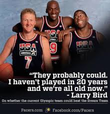1992 Dream Team Quotes Best of In Response To Kobe Bryant's Claim That This Year's USA Basketball