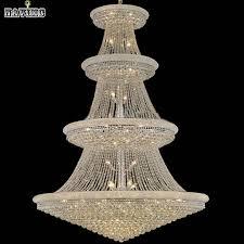 modern luxury led large chrome gold er crystal chandelier light fixture classic light fitment for hotel