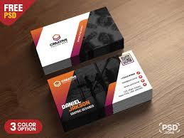 Free Design Business Cards Psd Business Card Design Free Templates Psd Zone