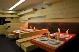 Modern Minimalist Restaurant Design Wooden Style Furniture Ideas