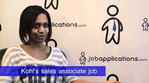 kohl s interview s associate kohl s interview s associate