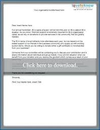 Auction Item Request Letter Business Donation Template Samples Of ...