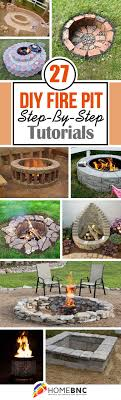 27 Best Diy Firepit Ideas And Designs For 2021
