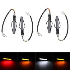 <b>12v motorcycle turn signal</b> flowing lights led indicator waterproof ...