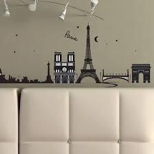 paris france decorative wall decal