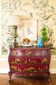 silk wallpaper chinoiserie ...