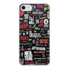 Чехол для iPhone 7, объёмная печать <b>МУЗЫКА</b>. <b>РОК</b> И МЕТАЛ ...