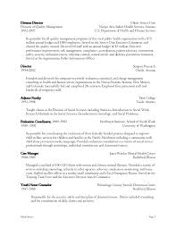 Human Services Resume Template