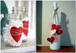 Decorating Ideas For Glass Jars 100 Ideas Of Home Décor For Valentine's Day Home Interior Design 31