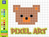 Cartoon character wallpaper, cyberpunk, video games. Coloriage En Ligne Par Pixel Tidou Fr