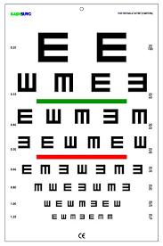 71 Competent Snellen Tumbling E Chart